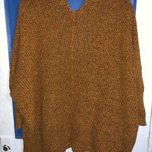 Tops - Woman's Orange Cardigan
